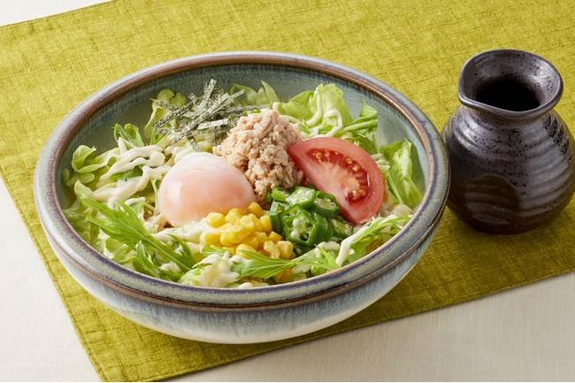■和風サラダうどん  999円(税込1,098円)