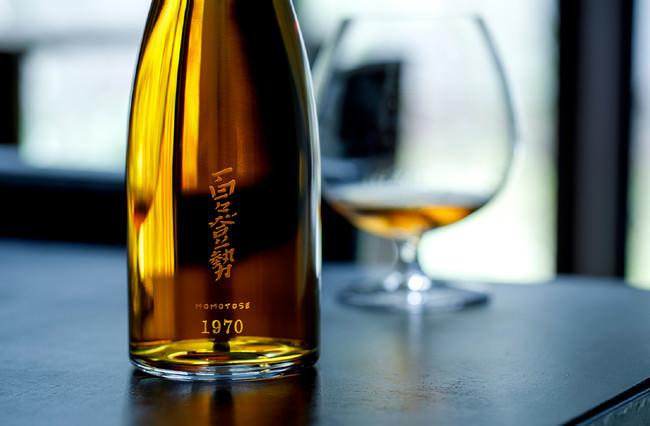 世界最古級の純米酒「百々登勢 1970」