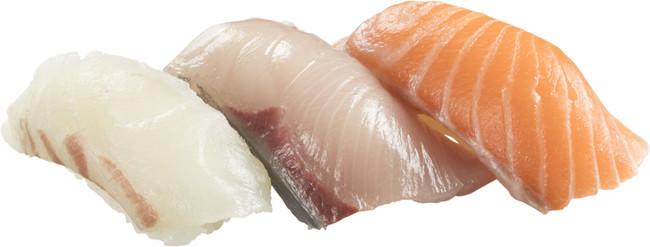 鮮魚3貫盛り
