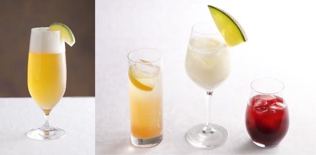 ノンアルコールカクテルも各種ご用意しています。
