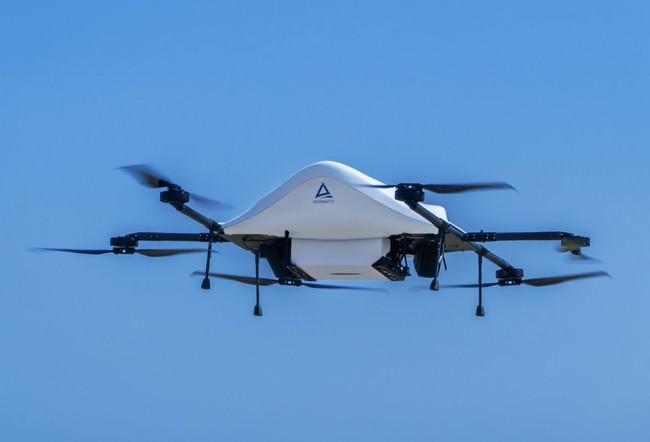 エアロネクストの物流用ドローンの最新試作機
