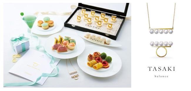 【セント レジス ホテル 大阪】〈夏季限定〉TASAKI × The St. Regis Osaka 伝統と革新が上品に溶けあう、優雅で美しい「balance Afternoon Tea」が登場。