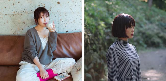 (左)坂本美雨さん (右)前田ひさえさん