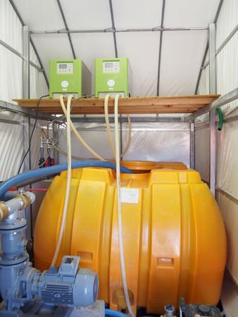 農業用整水器「還元野菜整水器AG」導入例