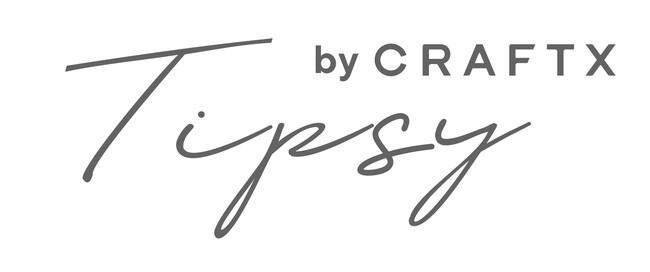 """動画コンテンツ""""Tipsy by CRAFTX""""ロゴ"""