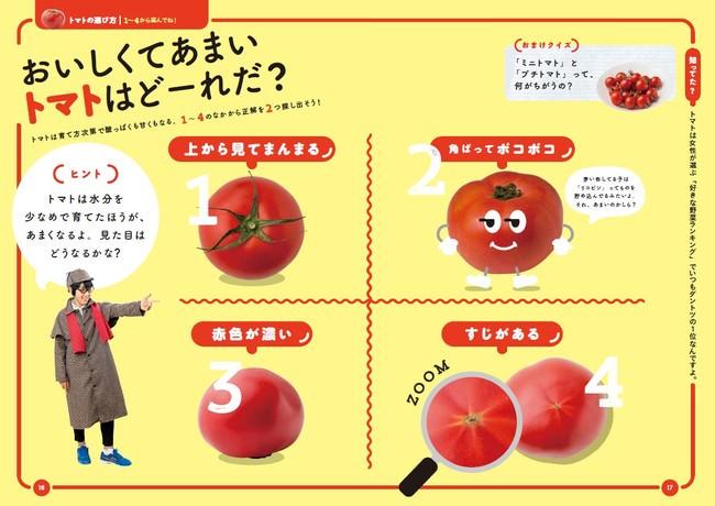 トマトのクイズ(サンプル)