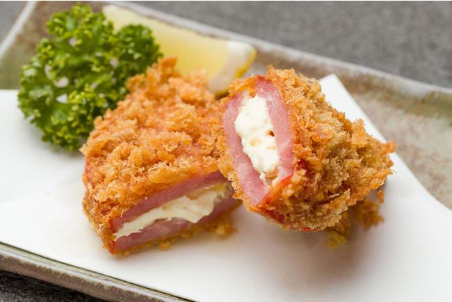 ●大島小原ハムかつ(クリームチーズ入り)