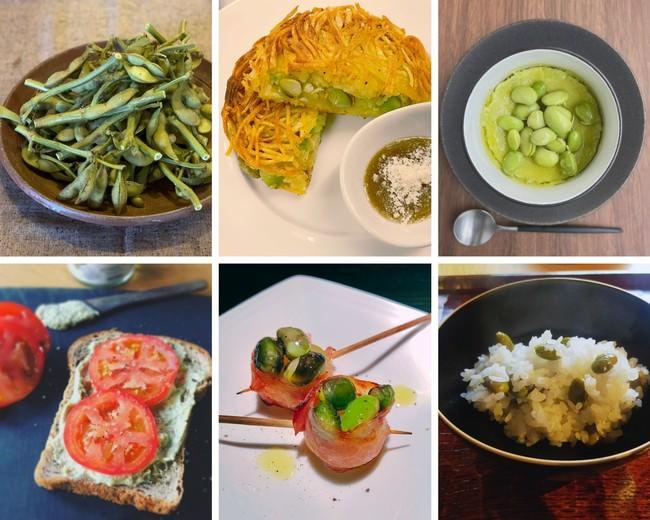 地元の飲食店考案の三田黒枝豆公開レシピ