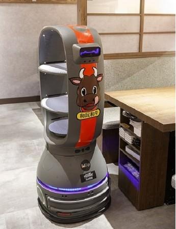 配膳ロボット