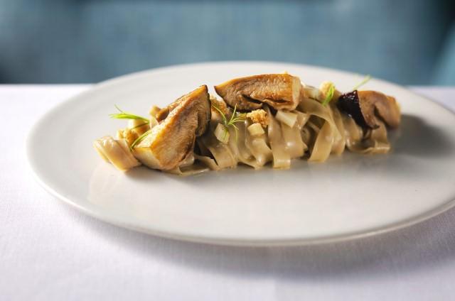 タリアテッレ ポルチーニ茸のソース