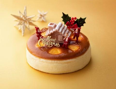 クリスマスチーズケーキ 直径17cm 2,800円(税込)