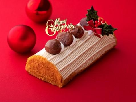 クリスマスモンブラン 長さ18cm 3,500円(税込)