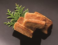 <豚角煮> さぼてん定番の ロースかつとして人気の高い三元麦豚が中華風に