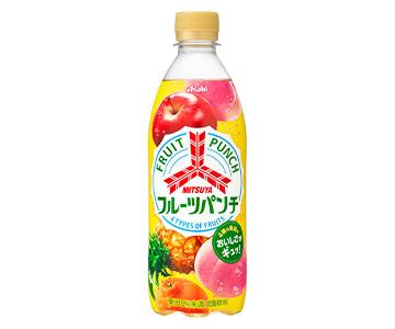 果実本来のおいしさが味わえる『三ツ矢 フルーツパンチ』11月9日から期間限定発売