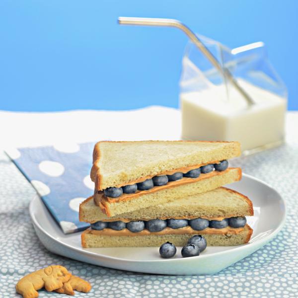 Blueberry Sandwich
