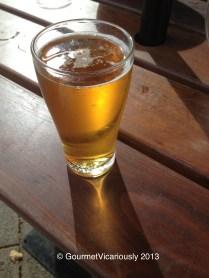Bulmer's apple cider.