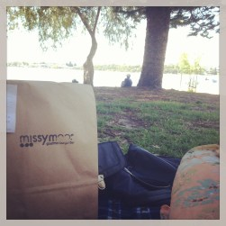 Burgers down at the river.