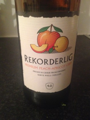 Peach and Apricot Rekorderlig