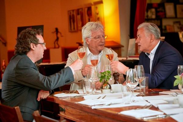 Klaus Wowereit im Berliner Restaurant e.t.a. hoffmann. Im Gespräch mit GOURMINO EXPRESS