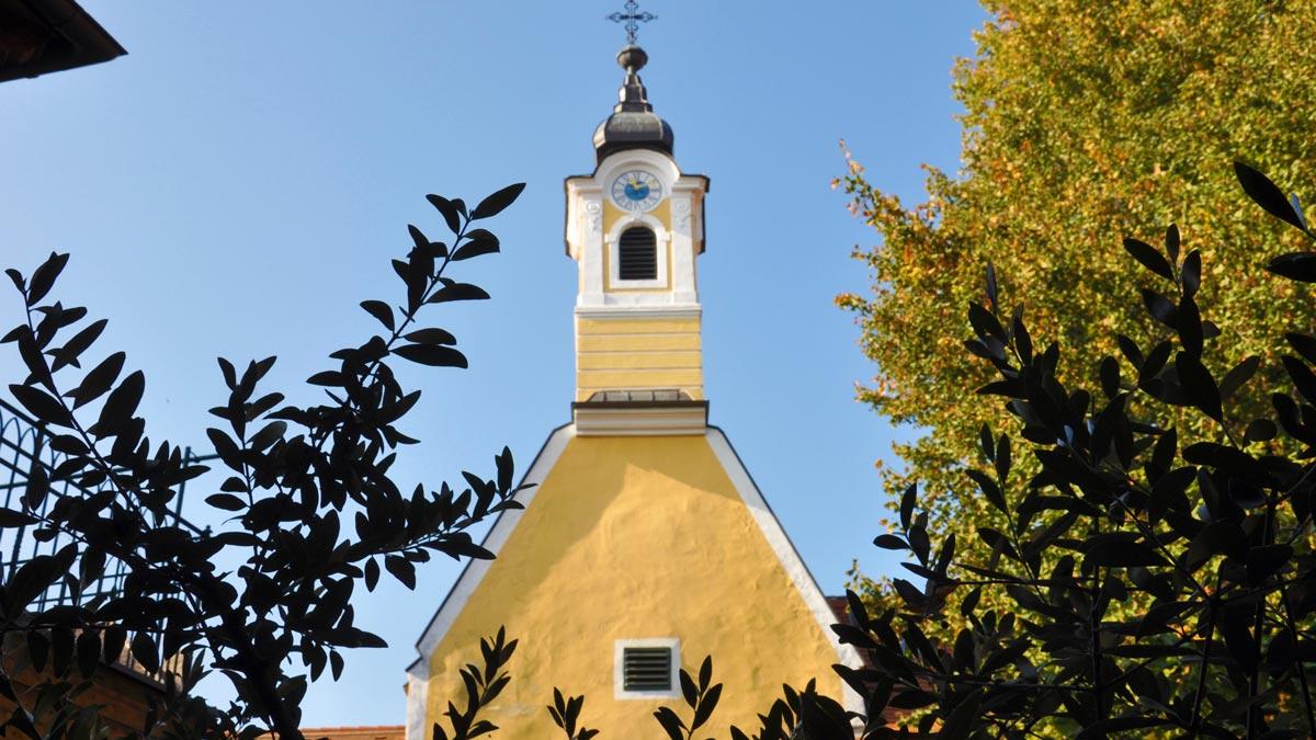 Die eigene Kapelle im Nikolaihof.