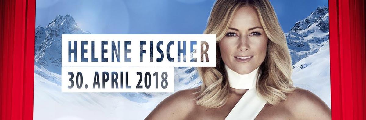 Höhepunkt und Abschluss der Saison: Gastspiel von Helene Fischer auf der Idalp