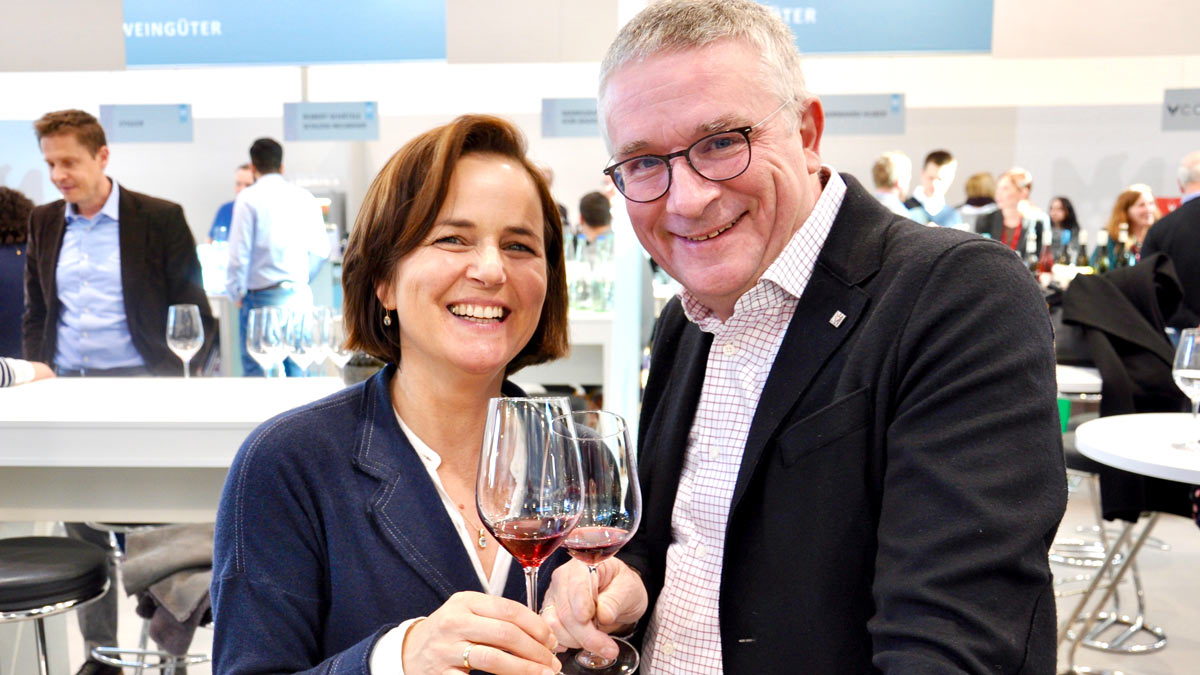 Joachim Rebholz und Frau Birgit, Siebeldingen