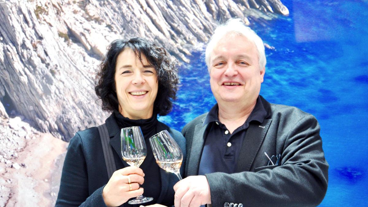 Joachim Heger und Frau Silvia