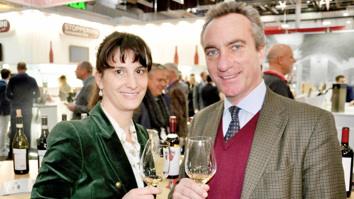 Führen ein Weingut in Rom: Alessandrojacopo Boncompagni Ludovisi und Frau Maria-Carolina