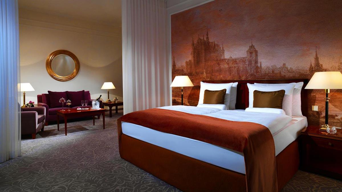 Exklusive Zimmer und Suiten ab 330 Euro