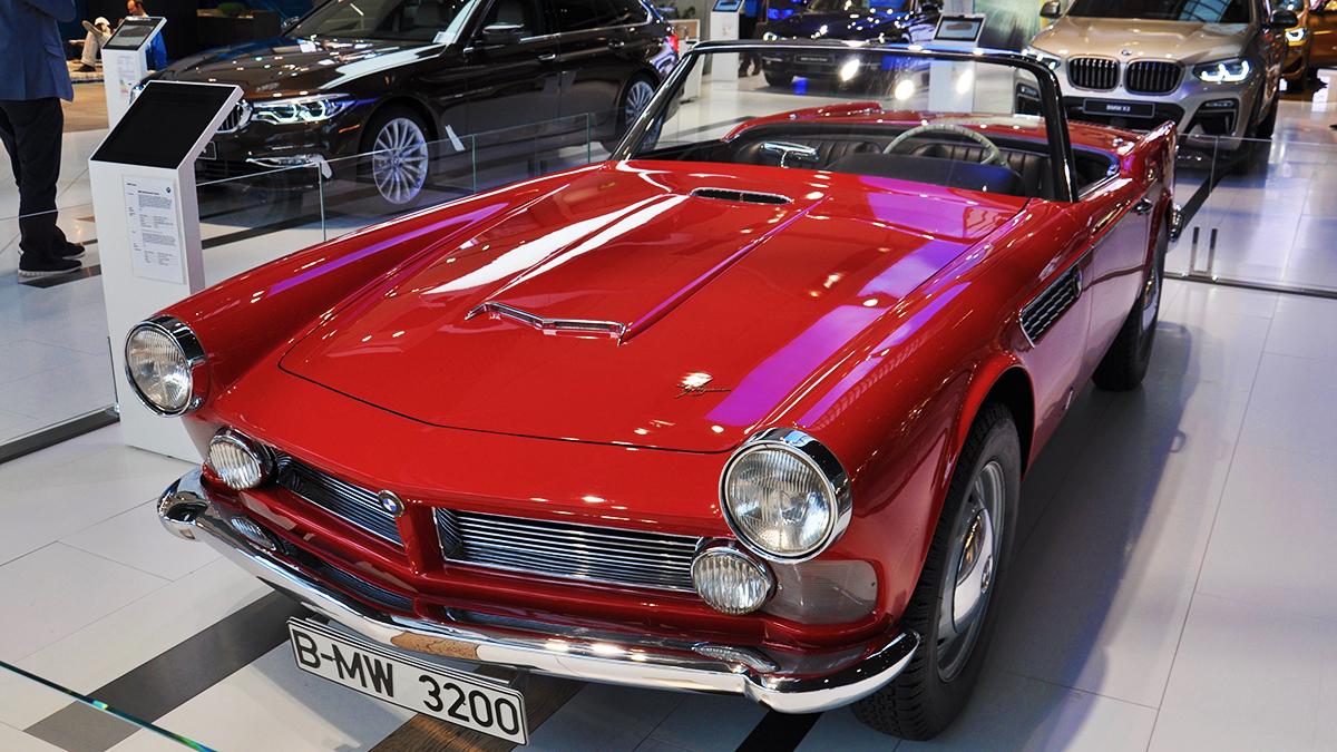 Eines der schönsten Cabrios überhaupt: der BMW 3200