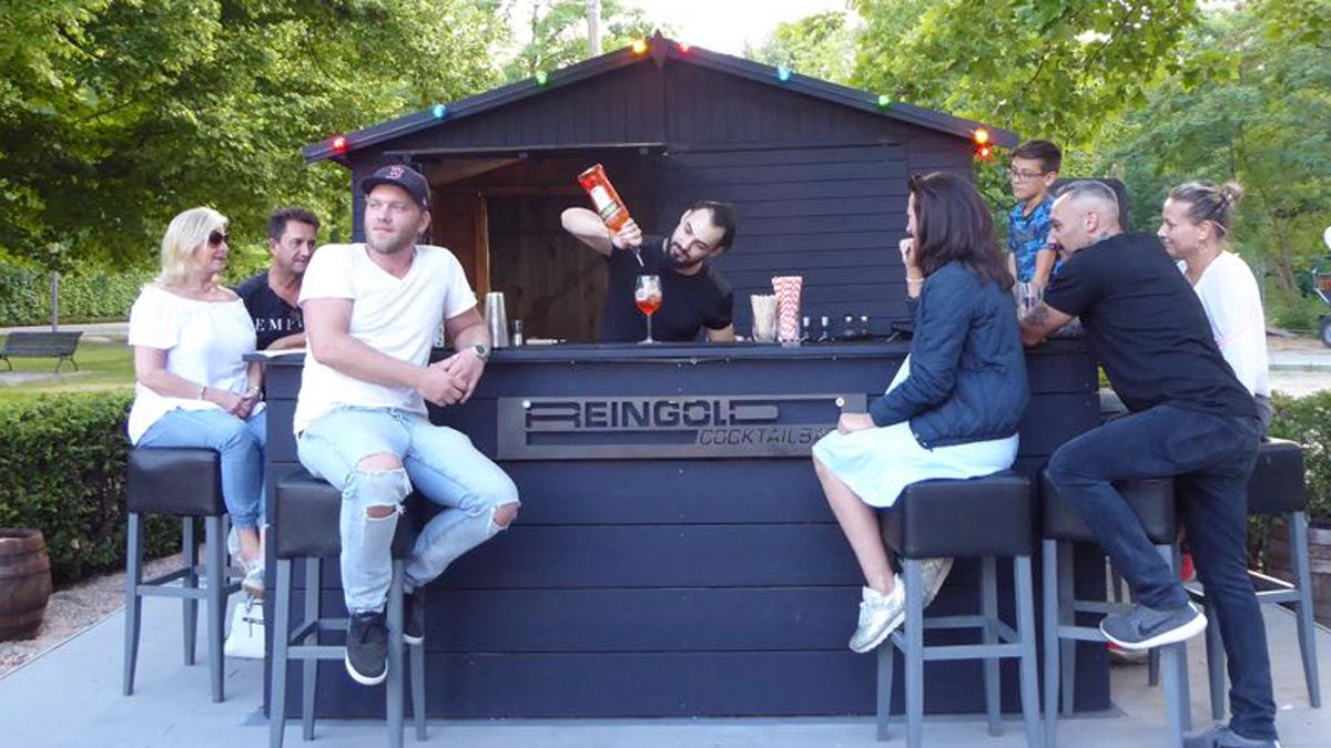 Summer Camp der Reingold Bar im Zollpackhof. Foto JW