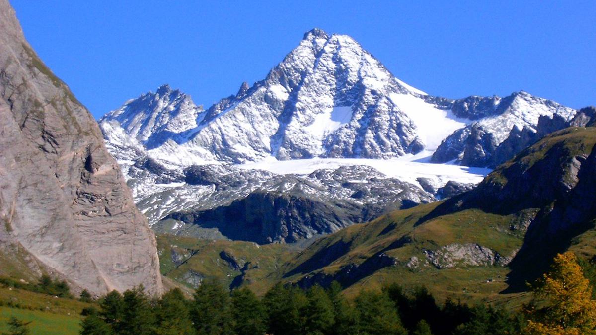 Der Großglockner, mit 3798 Meter Höhe der höchste Berg in Österreich. Foto WR