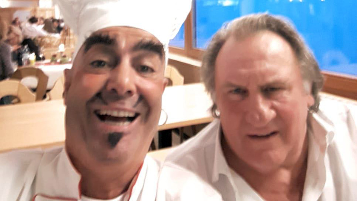 Pomp Duck & Circumstance Altstars freuten sich über ihren Landsmann Gerard Depardieu beim Kulinarik&Kunst Festival