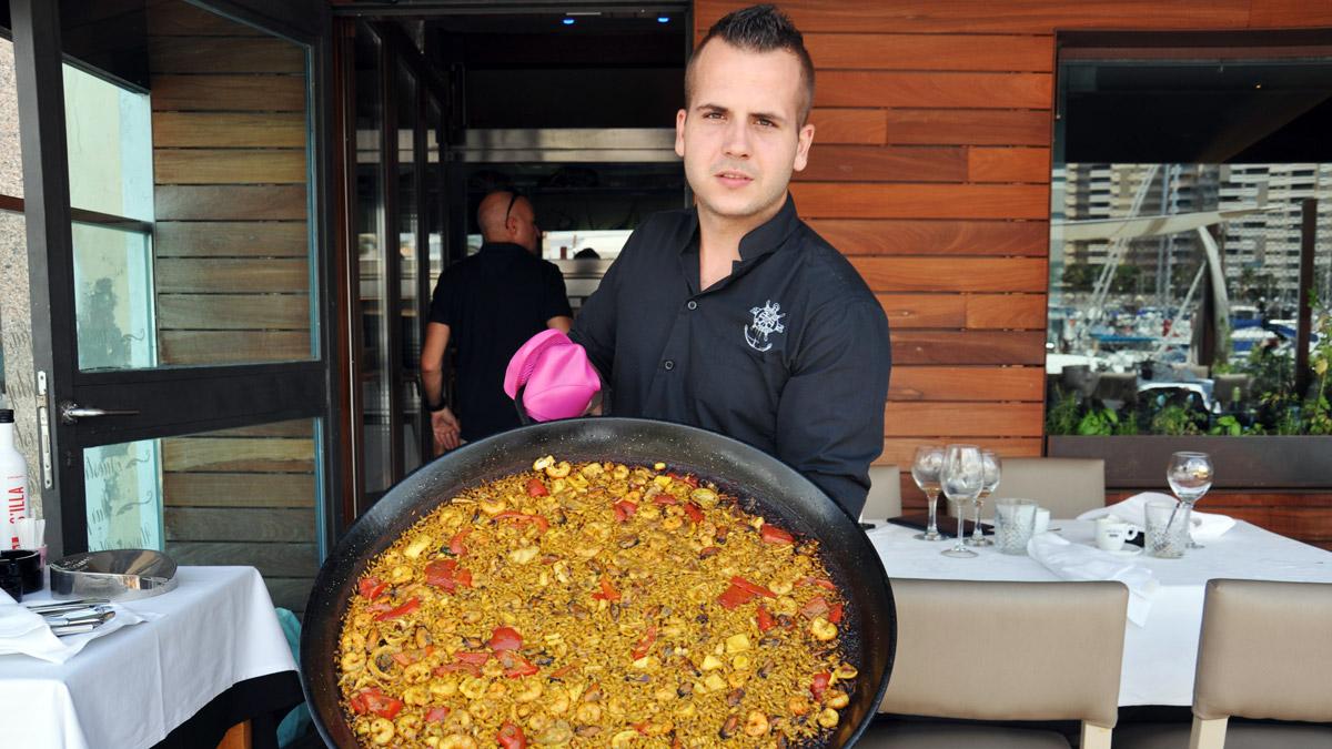 Sa Roqueta: Die Paella schmeckt köstlich. Foto WR