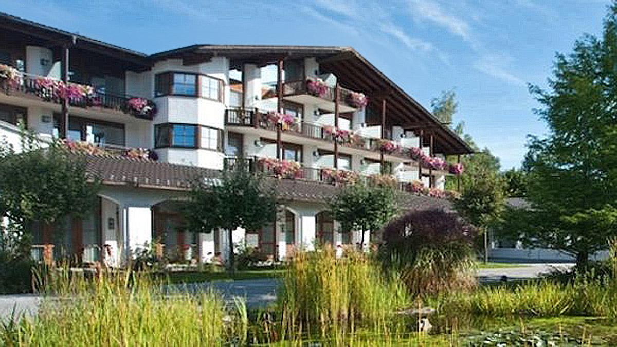 Der Alpenhof in Murnau: Refugium der Ruhe. Foto Alpenhof