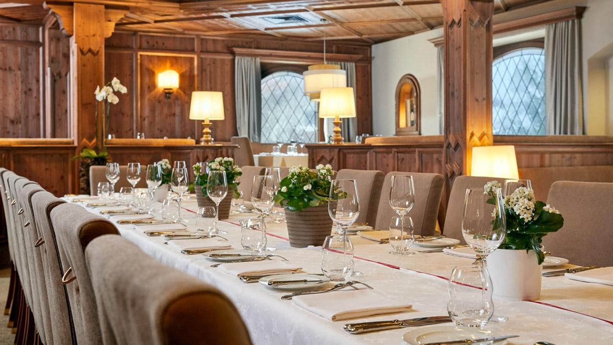 Restaurant Alpenrose: Neue Tiroler Küche in rustikal-eleganter Atmosphäre. Foto Alpenrose