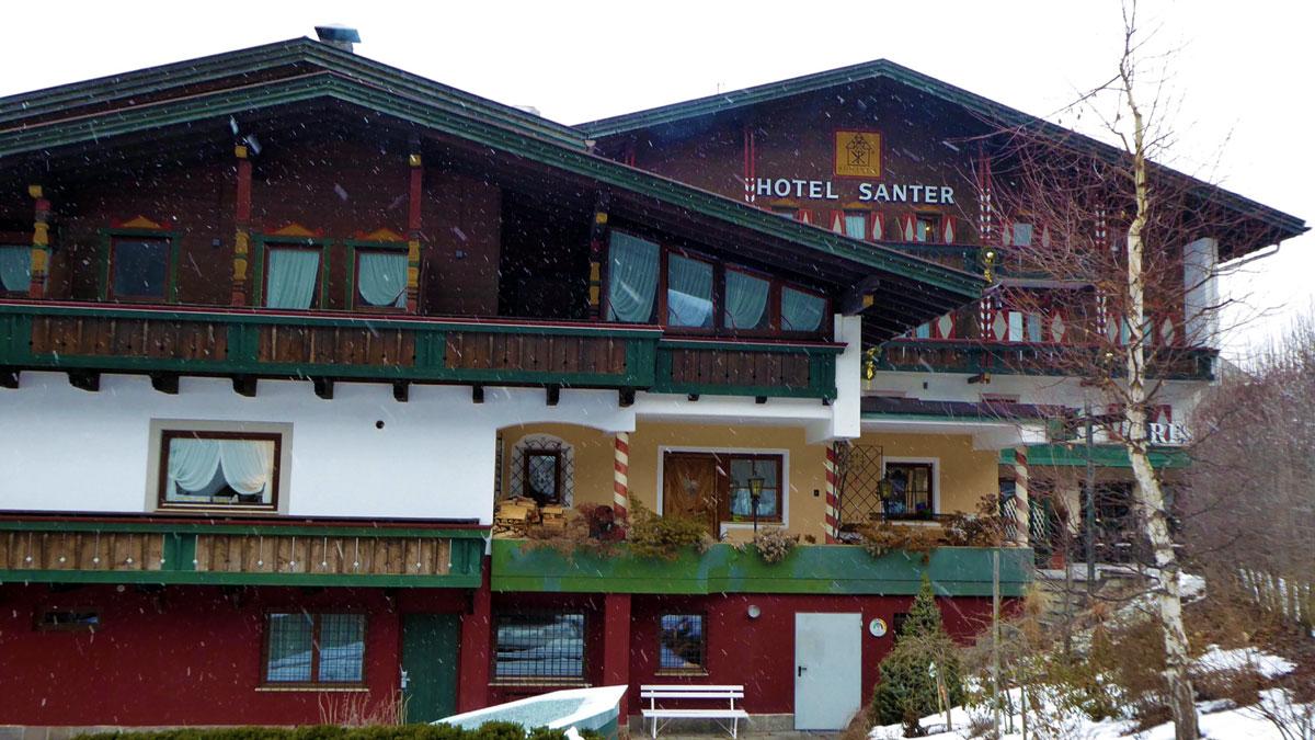 Romantikhotel Santer. Foto IH
