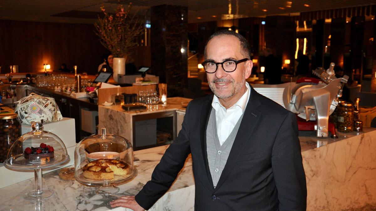 Marco Cristina wechselte vom Käfer Stammhaus in München nach Wien ins mondäne Ritz-Carlton. Foto WR