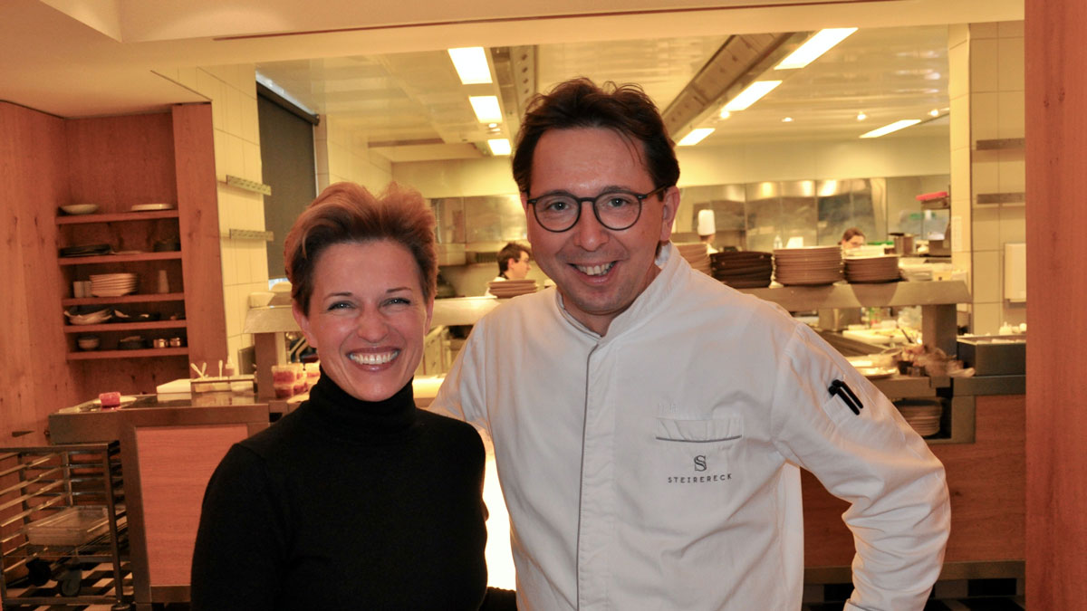 Geniales Duo: Birgit und Heinz Reitbauer. Foto WR