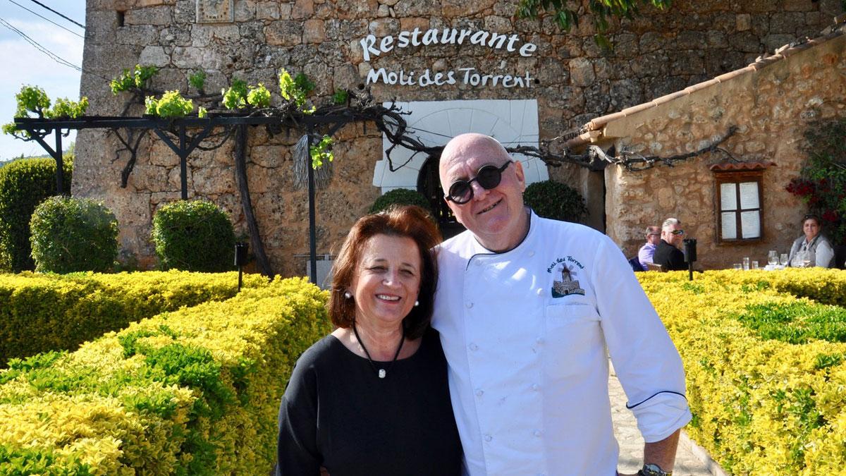 Charmante Gastgeber: Herta und Peter Himbert. Foto WR