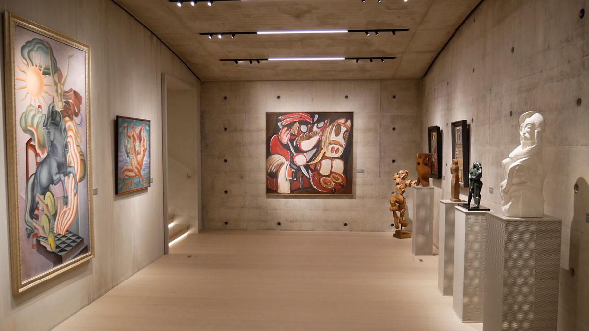 """Das Privatmuseum """"Tartle"""" zeigt Werke litauischer Künstler. Foto JW"""