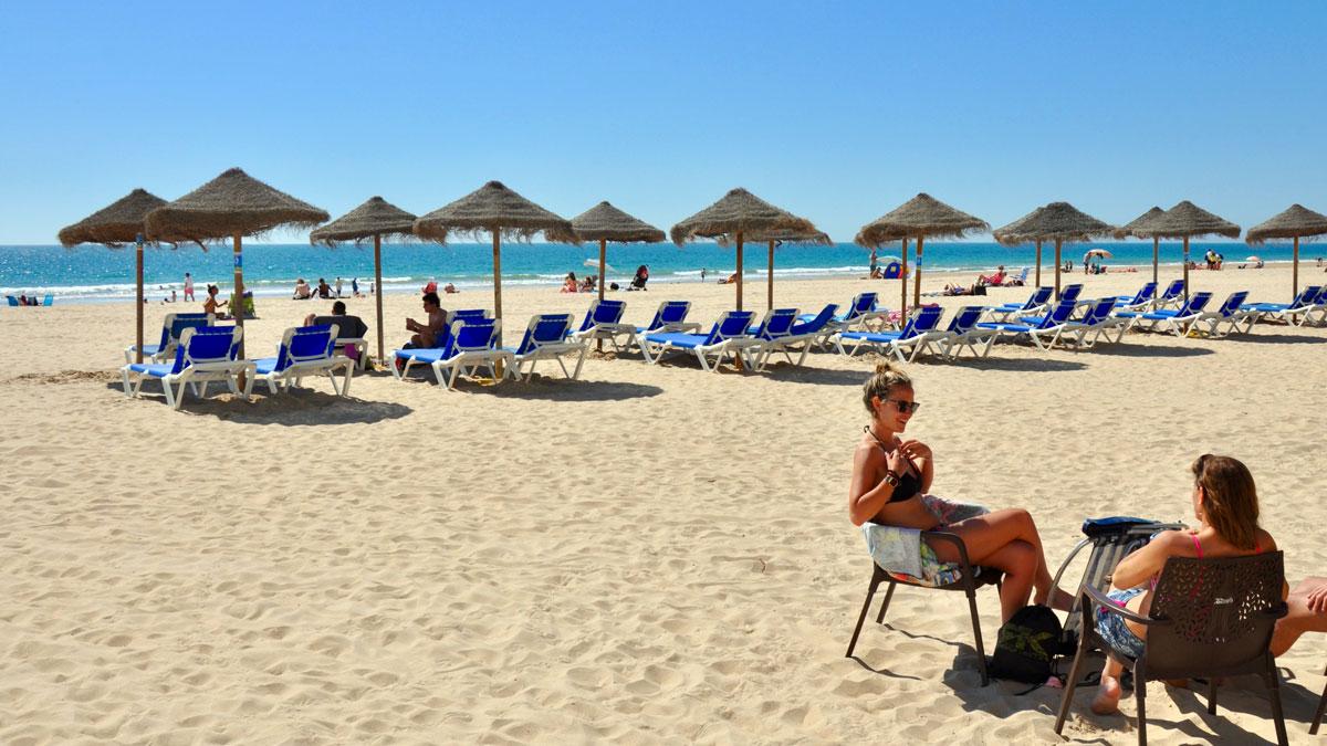 Playa Victoria – der schönste Strand von Cadiz. Foto WR