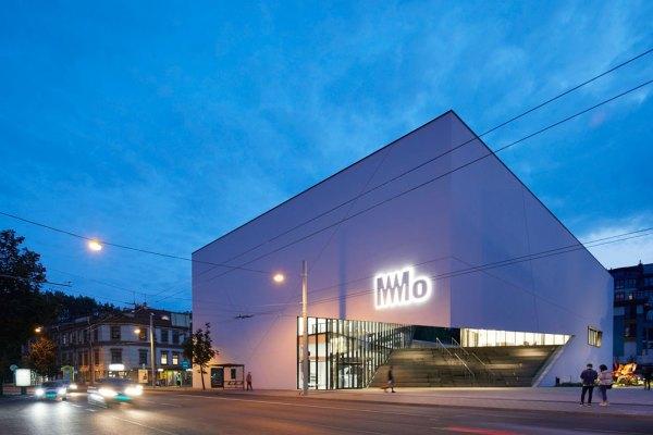 Libeskind Bau in Vilnius, das MO Museum