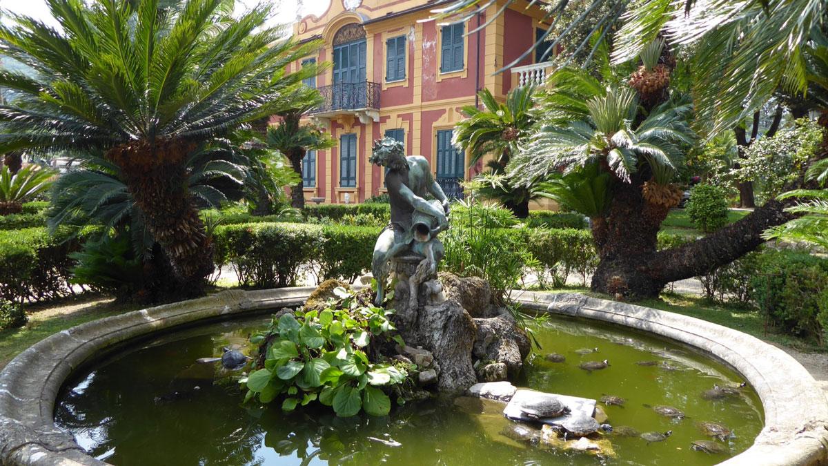 Il Giardino di Villa Durazzo. Foto Inna Hemme