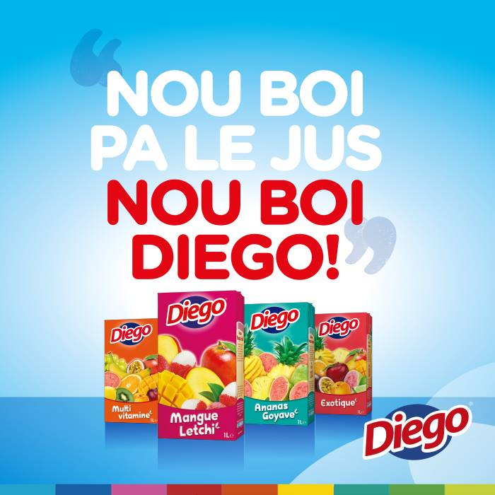 Nou boi pas le jus, nou boi Diego