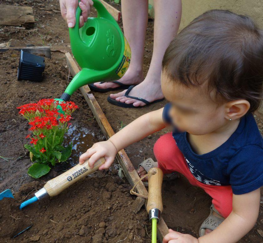 jardinage tout petits