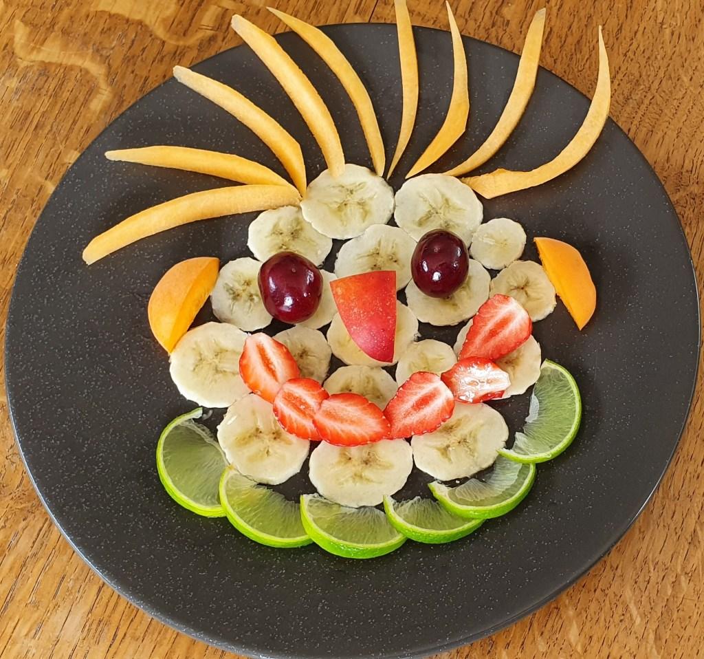 Bonhomme fruits comment faire manger des fruits aux enfants? Goûts et Papilles