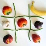 le plateau de jeu du légume