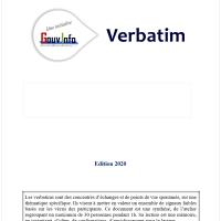 Atelier GouvInfo Verbatim - Le décid-Acteur  (2021)