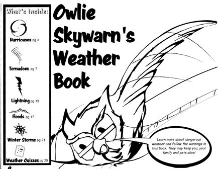 Owlie Skywarn helps us all prepare for bad weather